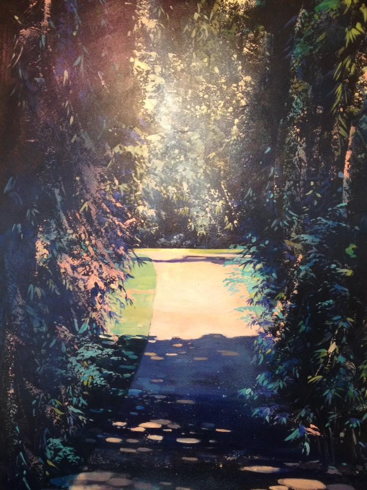 Paysages Végétaux - Guillaume Moisson | Artiste Peintre Décorateur | Lille - 59