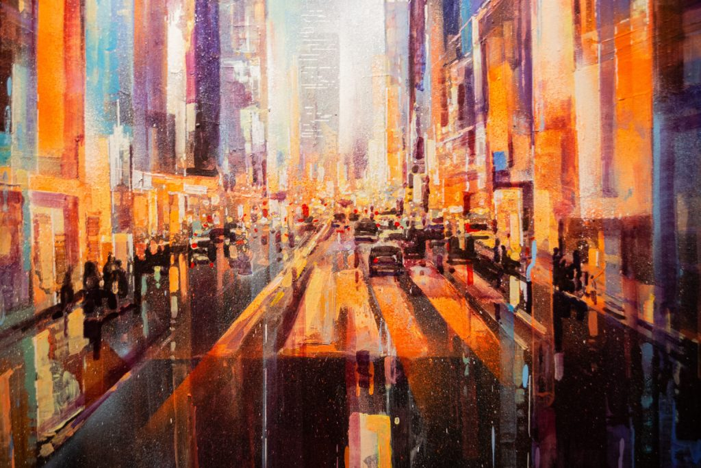 Paysages urbains - Guillaume Moisson | Artiste Peintre Décorateur | Lille - 59